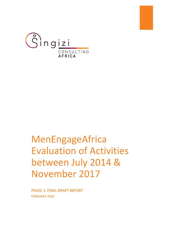 Singizi Evaluation MEA Phase 1