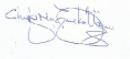 Dr Chris Ugwu Signiture