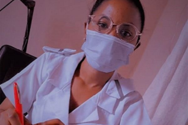 Oyenola Kehinde Olufunmilayo, a staff midwife at the Lagos State Primary Health Care Board